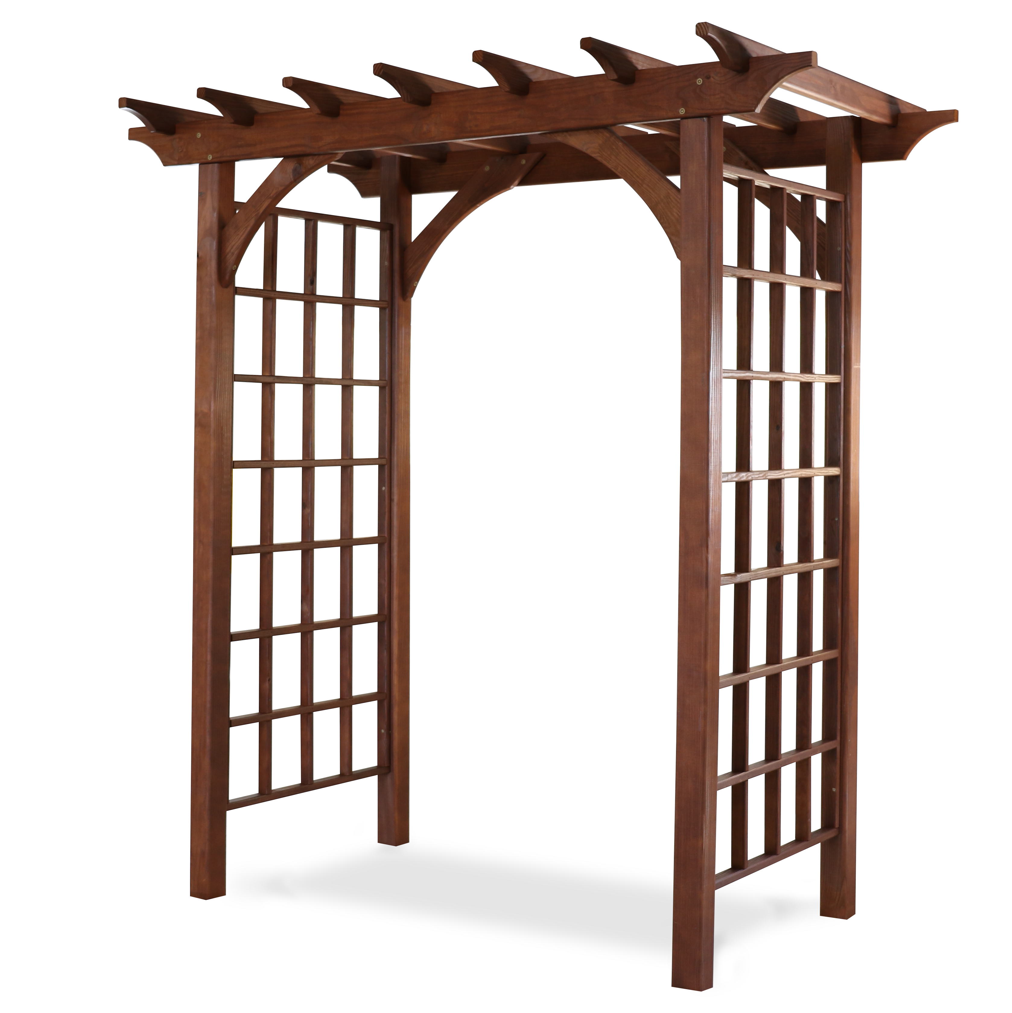 30 inch by 48 inch Canterbury style arbor.